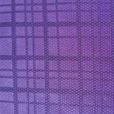 衣服およびライニングのための正方形の格子の柔らかい編まれた100%年のポリエステルファブリック