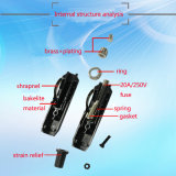 미국식 12V/24V Car Cigarette Lighter Adapter Plug Wire