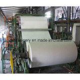 1092m m, Libro Blanco del papel de la cultura de 3 toneladas que hace la máquina para la pequeña empresa