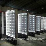 Indoor Subway Outdoor Passageway Metal Display Advertizing Billboard Paper Light Box