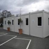 Casa prefabbricata modulare del contenitore per la soluzione ufficio/dell'adattamento (KXD-CH1316)
