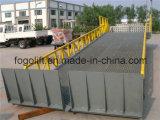 Geschleppter Schiene-Beweis beweglicher hydraulischer Rampen-Preis für Behälter-Laden