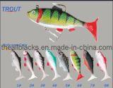 Attrait de pêche de palan de pêche - attrait de pêche de Wobbler - 10258