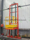 Tipo elevación de la columna de la plataforma del sitio que pinta (con vaporizador) 3D