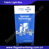 Vendita calda! Frameless su ordinazione che fa pubblicità alla casella chiara del tessuto LED