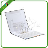 Carpetas de anillas hechas a mano Carpeta de archivos A4 Carpeta de archivos de papel 4D