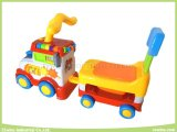 Musical elettronico Toys Happy Car Head Baby Walker con Seat (guidare-su o fare avanzare)