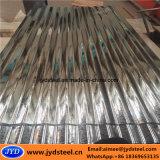 構築のためのGi/Zincの上塗を施してある鋼板