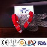 5つの指のチェーン・メールの手袋3つの指のステンレス鋼の手袋5つの指の長い袖のリングの網の手袋