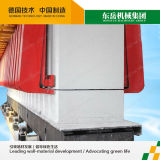 Aufbau-Flugasche-Autoklav setzte den konkreten AAC Block-Ziegelstein mit Kohlensäure durch, der Geräte herstellt
