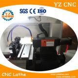 Torno de torreta del CNC de cuatro herramientas de la estación