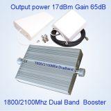 amplificatore a due bande St-82A del segnale 2100MHz del ripetitore 1800 del ripetitore di 3G 4G Lte