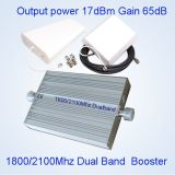 3G 4G Lteの中継器のブスター1800の2100MHzデュアルバンドのシグナルのアンプSt82A