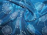 Poliuretano que abobada a tela brilhante do filamento