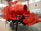 proceso de mezcla concreto diesel remolcable del envase del cargamento de la bomba 30m3/Hour