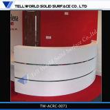 Type laconique extérieur solide acrylique de bureau de réception