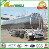 3 assi che di sollevamento il rimorchio di alluminio del serbatoio di combustibile della sospensione dell'aria semi