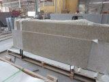 China G682 amarillo ocaso losa de granito para la encimera de baldosas