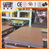 Chapa de aço inoxidável do revestimento da linha fina da qualidade 201 superior