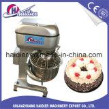 Mezclador de la galleta para las magdalenas que baten y que se mezclan