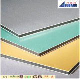El panel plástico de aluminio de Decortaion del panel compuesto de aluminio exterior del edificio 4m m