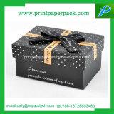 カスタムボール紙の荷箱の赤いギフトの紙箱