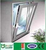 Guichet en aluminium d'inclinaison et de spire avec le double vitrage
