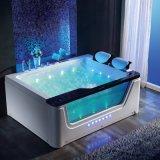 Neue Entwurfs-Wasserfall-Massage-Luxuxbadewanne