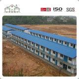 Los hogares prefabricados de la casa del bajo costo, prefabrican la casa de la estructura de acero