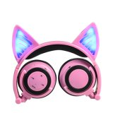 La vente en gros de fabrication de Lks possèdent les écouteurs mignons d'oreille de chat de vente chaude privée