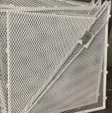 Revêtement de maille augmenté par métal de modèle de mode pour la décoration de construction