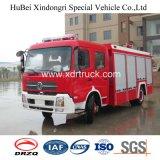 Dongfeng水消火活動のトラック内部タンクタイプ