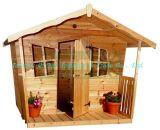Maison de théâtre en bois extérieure (QZW1014)