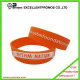 Изготовленный на заказ резиновый Wristbands и браслеты силикона (EP-S7101)