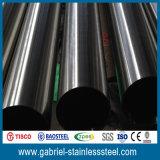 201/304/316 Naadloze Opgepoetste die Pijp van het Roestvrij staal van China wordt gemaakt