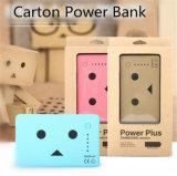 Entwurfs-Stromversorgungen-schnelle Ladung-Karikatur-Energien-Bank des Karton-10400mAh