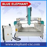 Router de madeira do CNC do molde de Ele 1325, máquina de molde plástica para a fatura do molde