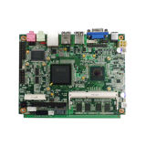 Fanless Atom Motherboard mit 12V Power Output