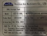 300L réservoir de stockage de l'acier inoxydable 316L (ACE-CG-H1)