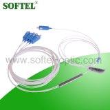 섬유 광학적인 FTTH 소형 1*4 PLC