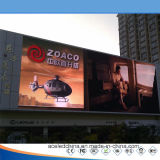 Pantalla de visualización de aluminio de LED de la cabina del SID-Bastidor al aire libre P8 para hacer publicidad