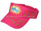 Pare-soleil de Sun de loisirs de broderie de sergé de coton de mode (TRNV013)