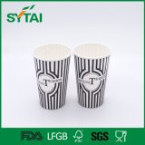 Waterproof Colorful Custom Style Design Recycled Paper Cup for with Lid