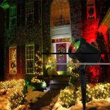 Свет украшения рождества лазерного луча звезды ночи