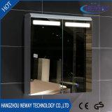新しいデザインCe/IP44壁の浴室アルミニウムLEDミラーのキャビネット