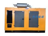220/380V 닫집을%s 가진 303kw/380kVA 침묵하는 방음 또는 저잡음 디젤 엔진 발전기