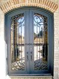 Portelli di entrata eleganti del ferro del sopracciglio quadrato con qualità eccellente