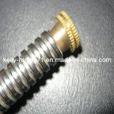 SS304 316 acero inoxidable corrugado manguera flexible de metal con accesorios