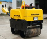 Double tambour Walk Behind Hydraulic Mini Small Vibratory Road Roller
