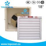 """Aérage ventilateur d'extraction de refroidissement de ventilateur FRP 18 """" pour le bétail ou l'industrie"""